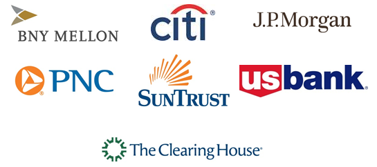 bny mellon us bank citi jp morgan pnc and suntrust first banks to use the clearing houses new real time payments system